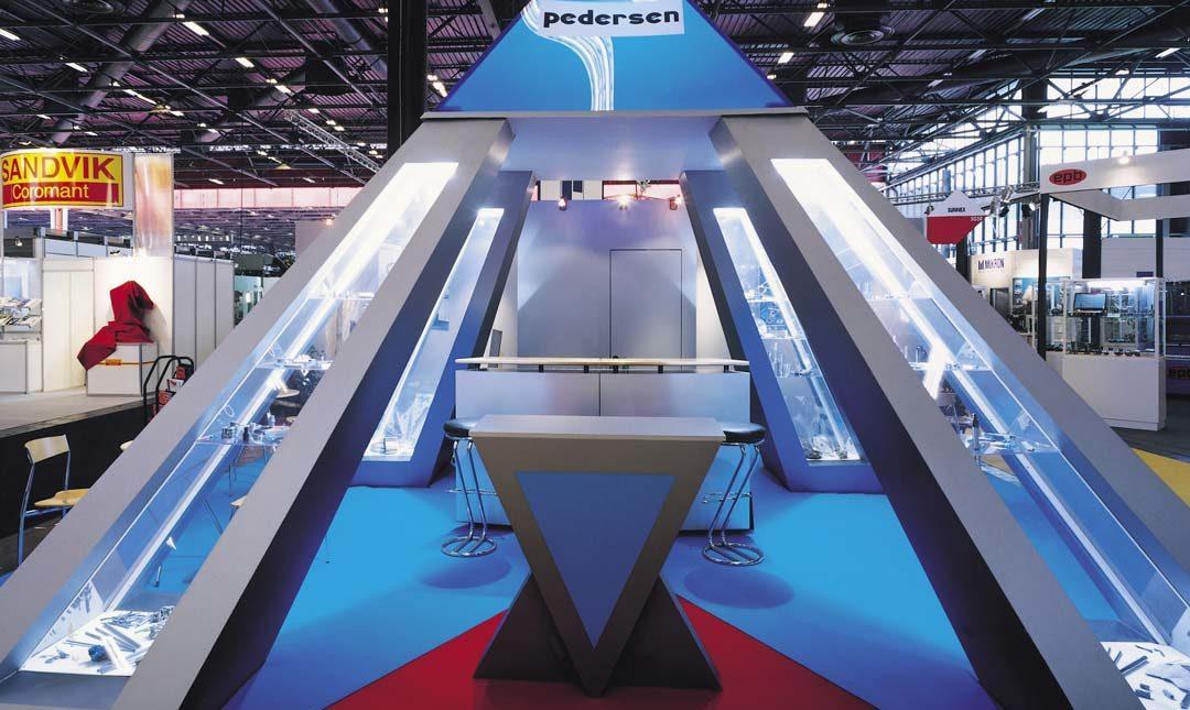 conception stand pedersen 48m2