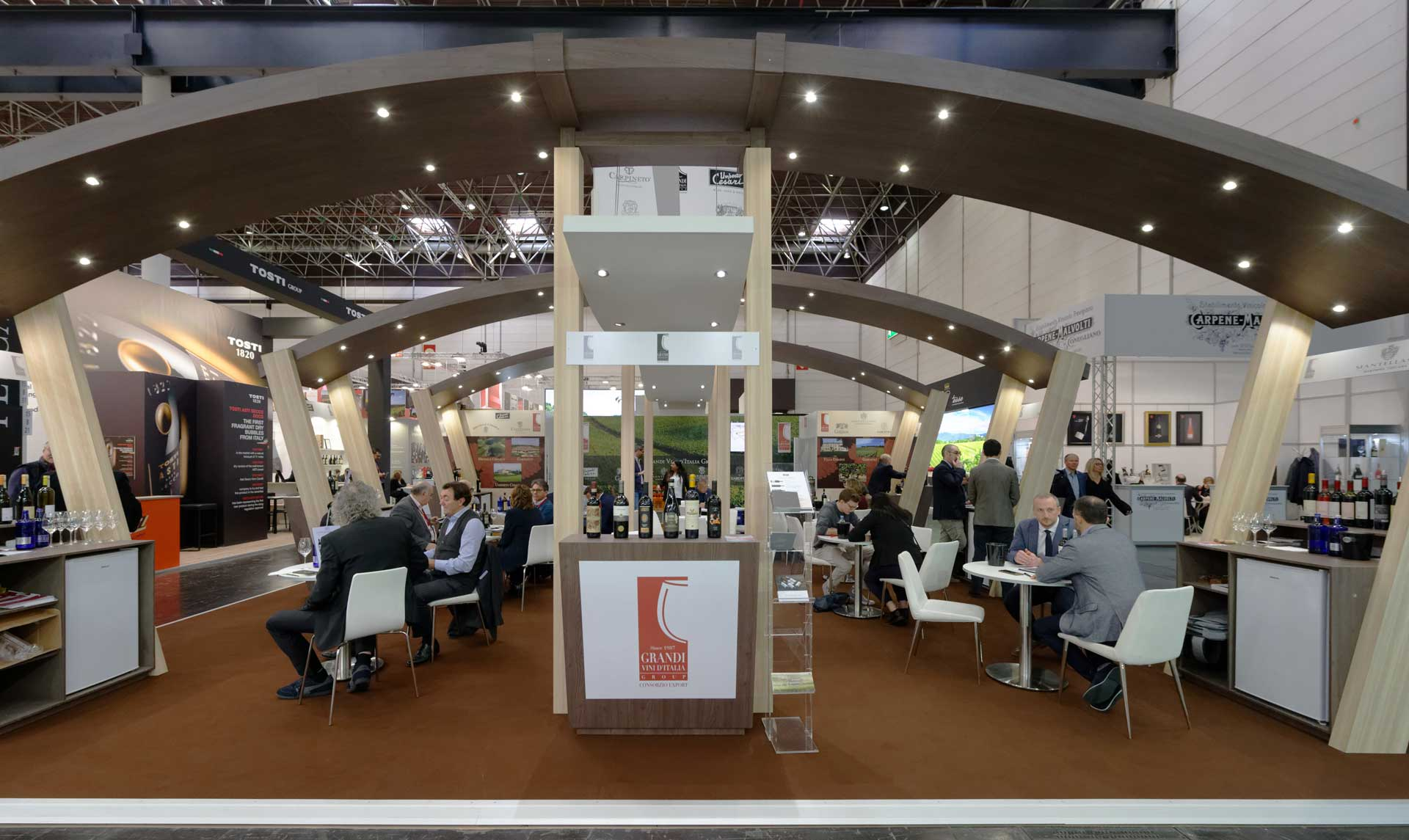 Conception de stand vignoble Salon Prowein 2019