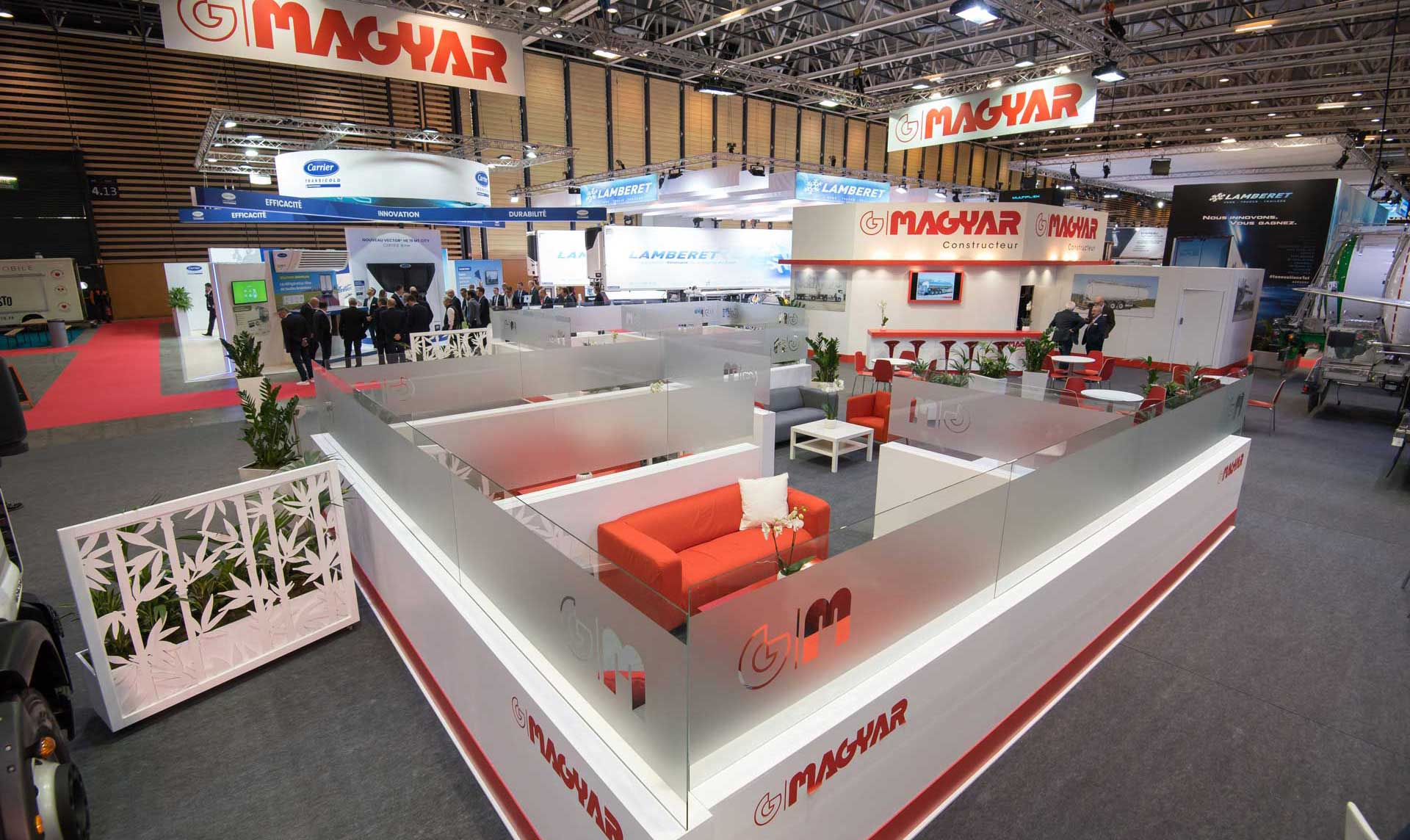 Conception de stand Magyar - Salon solutrans 2019