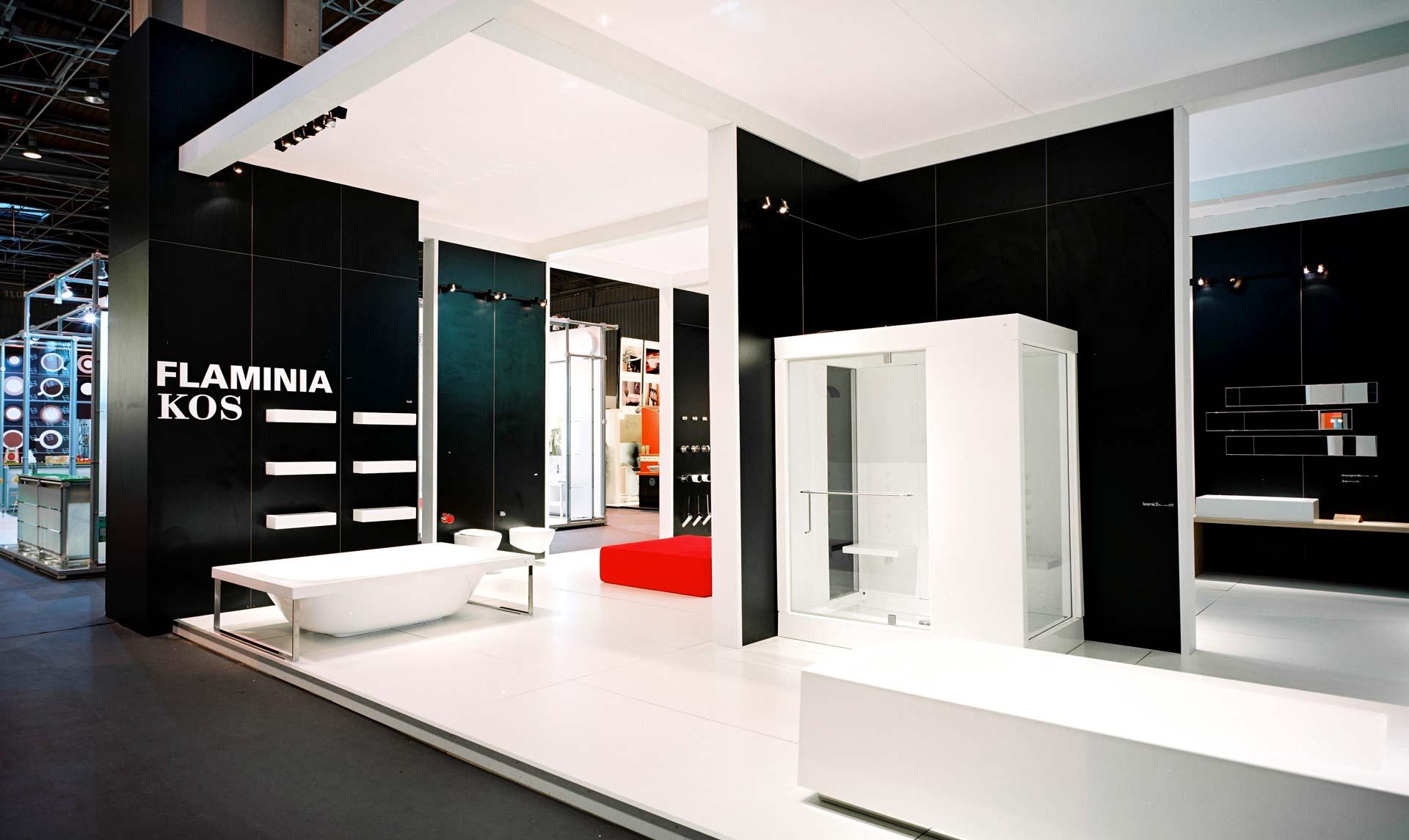 Fabrication du stand Faminia pour le salon Idéobain de 2006