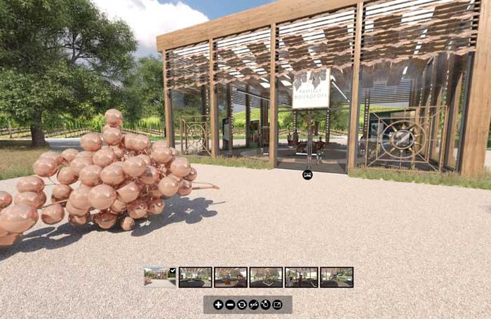 Visite d'une exposition virtuelle